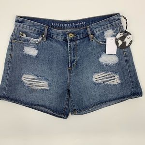 Articles Of Society Distressed Shorts High Waisted